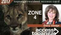 Topanga Resident Access Card