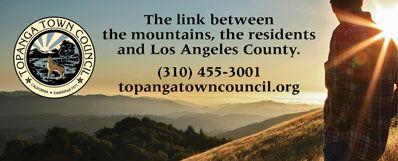Topanga Town Council – Horizontal Revolving Ad