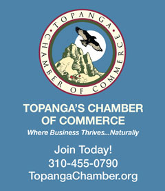 Topanga Chamber of Commerce – Vertical Revolving Ad