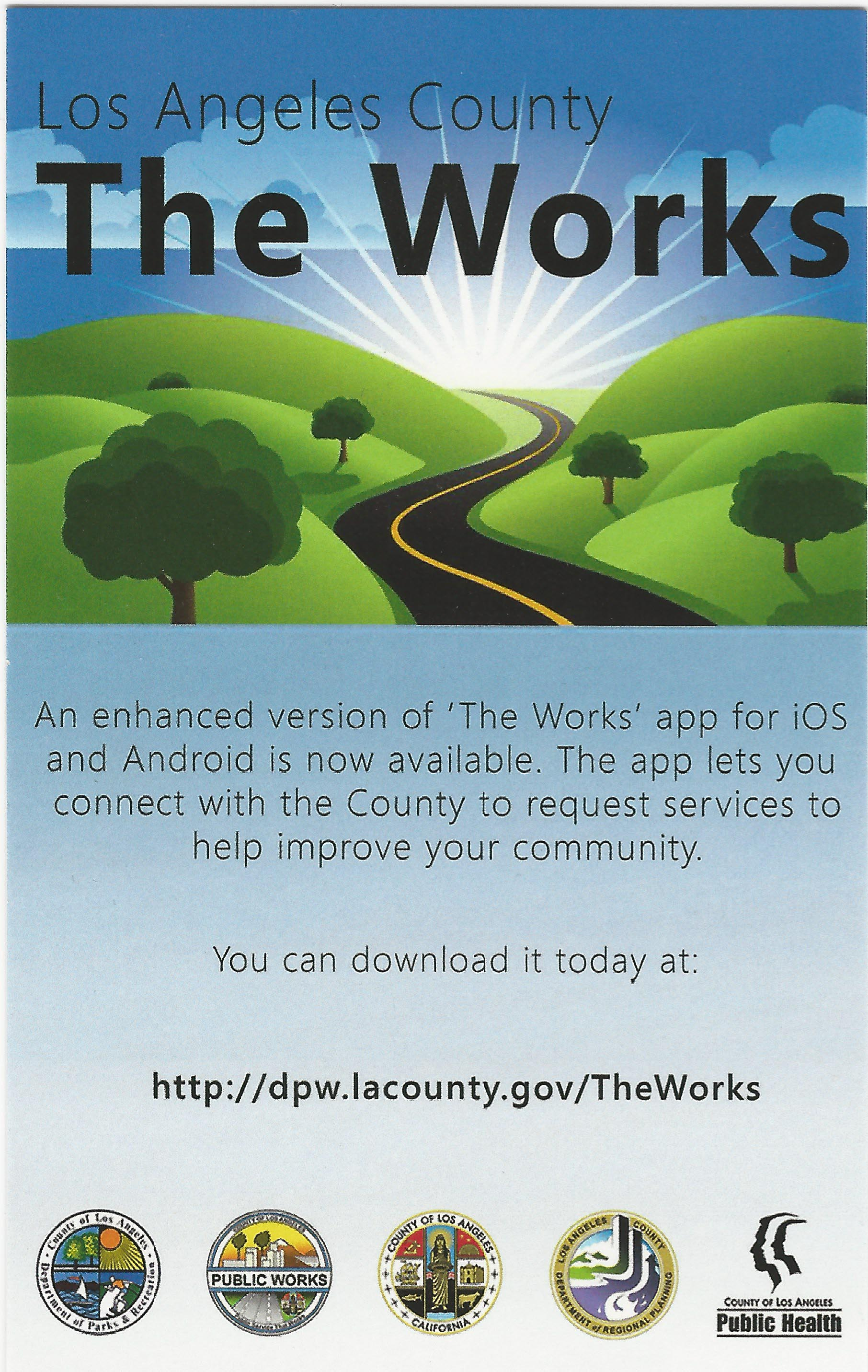 Countys The Works app