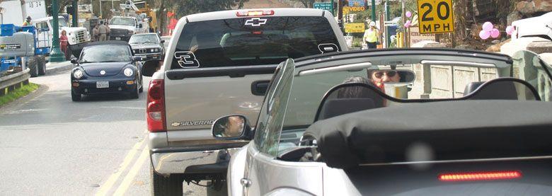 Traffic Information Top Banner
