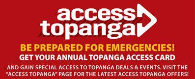 Access Topanga – Horizontal Revolving Ad