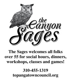 Canyon Sages – Vertical Revolving Ad
