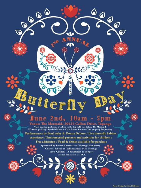 Butterfly Day 2019 Poster BLUE 1
