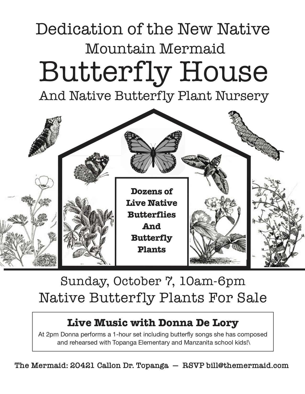 DEDICATION BUTTERFLY HOUSE 2 AND NURSERY FLYER 1