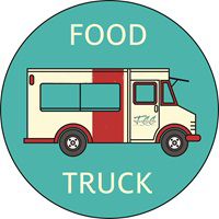 TCC Food Truck Logo